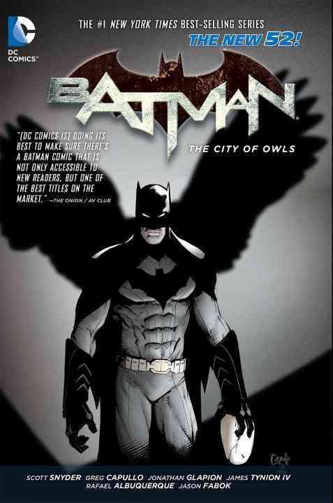Batman 2: The City of Owls (Hardcover)