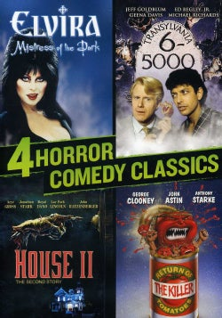 4 Horror Comedy Classics (DVD)