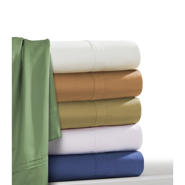 Egyptian Cotton Sateen 500 Thread Count Oversized Sheet or Pillowcase Separates
