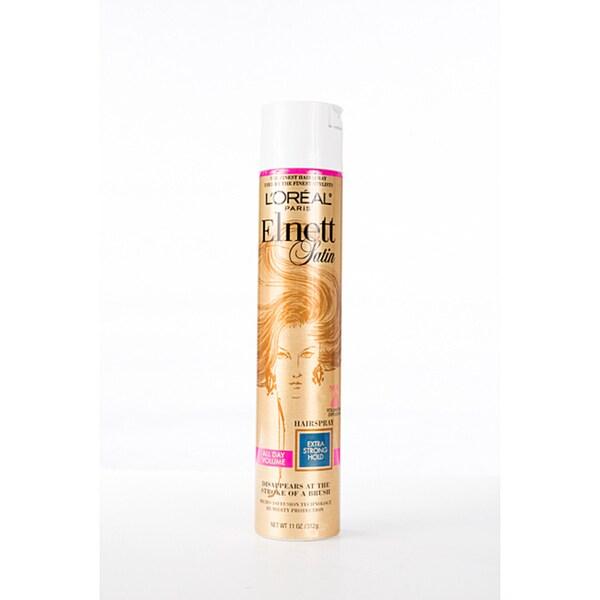 L'Oreal Elnett Satin 11-ounce Hairspray Extra Hold (Pack of 4)