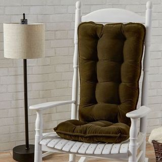 Greendale Home Fashions Sage Cherokee Jumbo Rocking Chair Cushion Set