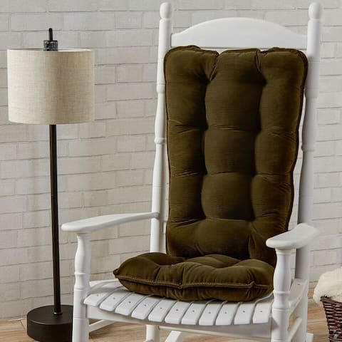 Greendale Home Fashions Sage Cherokee Jumbo Rocking Chair Cushion Set