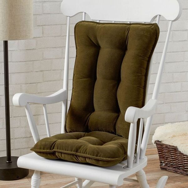 Greendale Home Fashions Sage Cherokee Rocking Chair Cushion Set