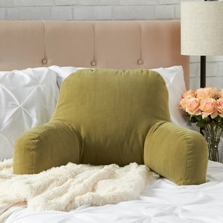 Greendale Home Fashions Olive Omaha Bed Rest Pillow