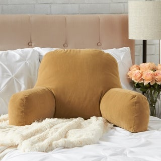 Greendale Home Fashions Buff Omaha Bed Rest Pillow