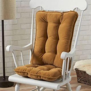 Link to Greendale Home Fashions Khaki Cherokee Rocking Chair Cushion Set Similar Items in Table Linens & Decor