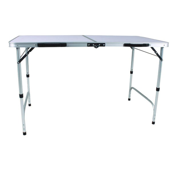 Superb Slim Jim Aluminum Folding Table   Free Shipping Today   Overstock.com    14351329