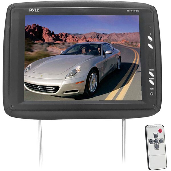 "Pyle PL1104HRBK 11.3"" Active Matrix TFT LCD Car Display - Black"