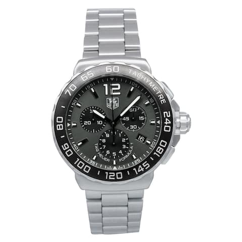 Tag Heuer Men's CAU1115.BA0858 'Formula 1' Automatic Chronograph Stainless Steel Watch