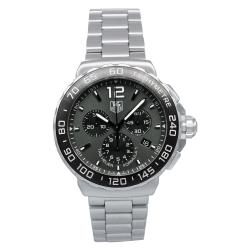 Thumbnail 1, Tag Heuer Men's CAU1115.BA0858 'Formula 1' Automatic Chronograph Stainless Steel Watch.