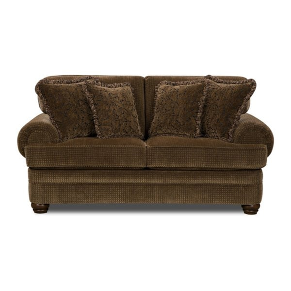 Beautyrest Lake Charles/ Lafayette Bronze Love Seat
