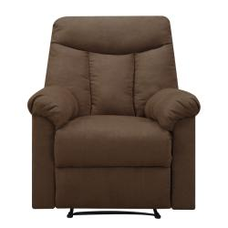ProLounger Wall Hugger Dark Brown Microfiber Recliner