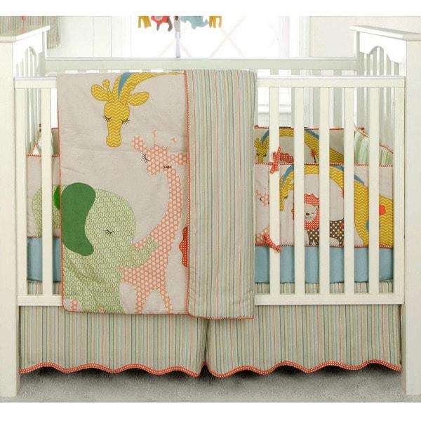 Shop Bananafish Migi Circus 3 Piece Crib Bedding Set