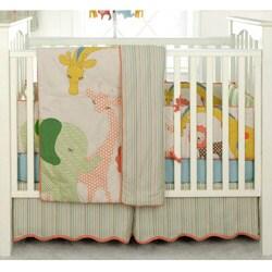 BananaFish MiGi Circus 3-piece Crib Bedding Set