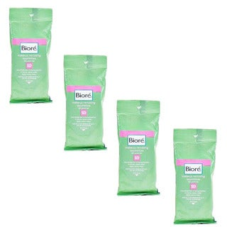 Biore Makeup Removing Green Tea Towelettes (Pack of 40)
