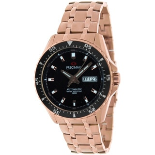 Precimax Men's Vintage Automatic Stainless-Steel Water-Resistant Watch