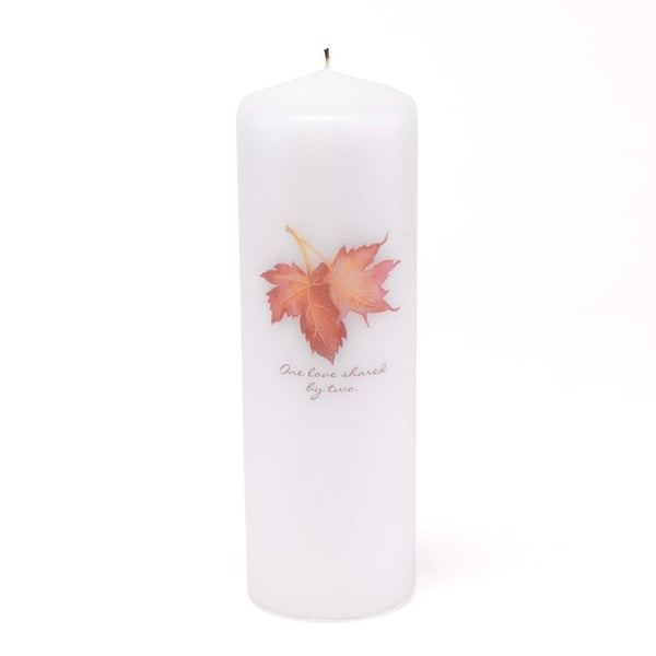 Maple Leaf Unity Candle