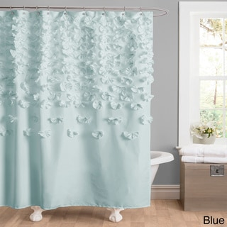 Blue Shower Curtains - Overstock.com - Vibrant Fabric Bath Curtains