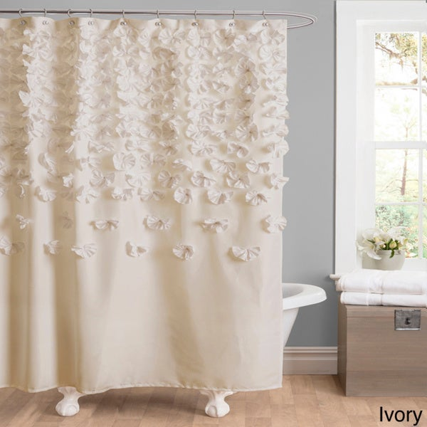 Short Shower Curtain Rod White Bathroom with Shower C