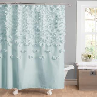 The Gray Barn Dogwood Shower Curtain 3 Options Available
