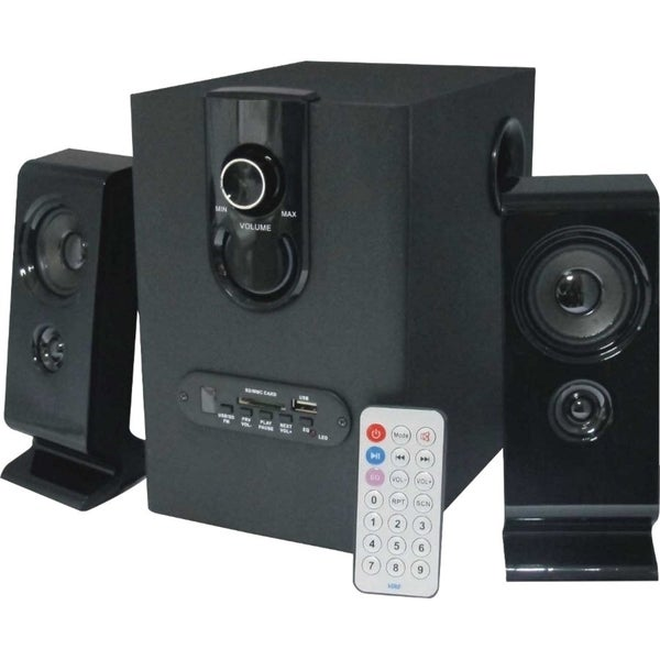 Supersonic SC-1121 2.1 Speaker System - 16 W RMS