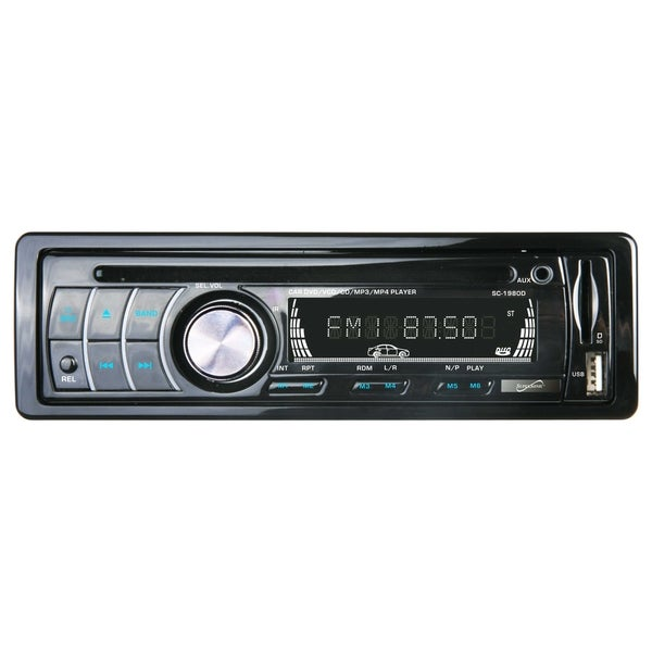 Supersonic SC-1980D Car DVD Player - LCD