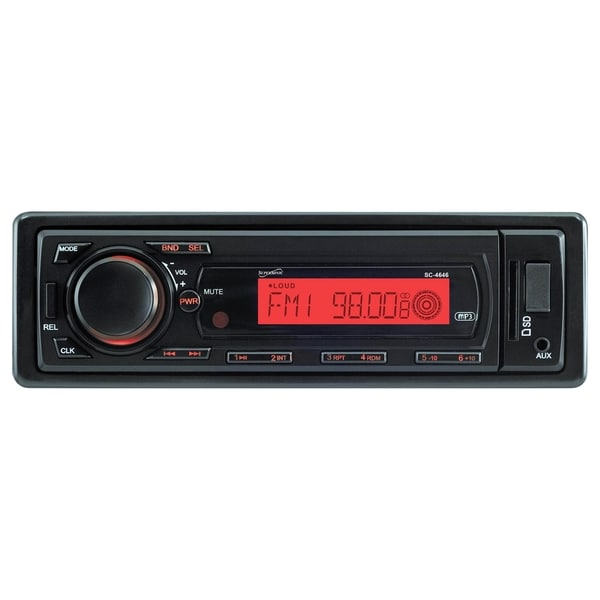 Supersonic SC-4646 Car Flash Audio Player