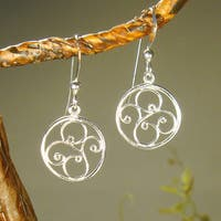 Jewelry by Dawn Small Round Filigree Sterling Silver Earrings