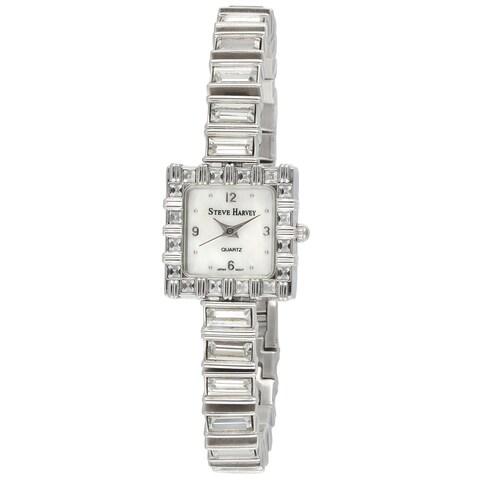 Steve Harvey Women's Square Baguette Watch