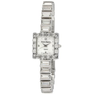 Steve Harvey Women's Square Baguette Watch