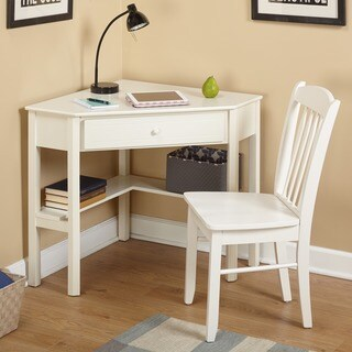 Simple Living Savannah 2-piece Corner Study Set