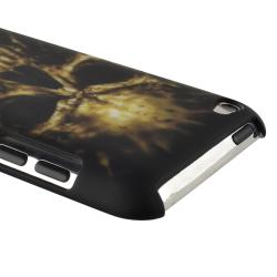 INSTEN Black Skull Case Cover/ Protector/ Wrap for Apple iPod Touch Generation 4