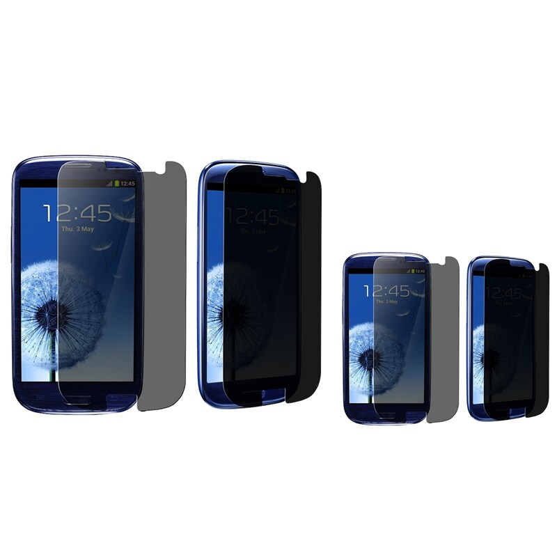 INSTEN Privacy Filter for Samsung Galaxy S III i9300 (Pack of 2)