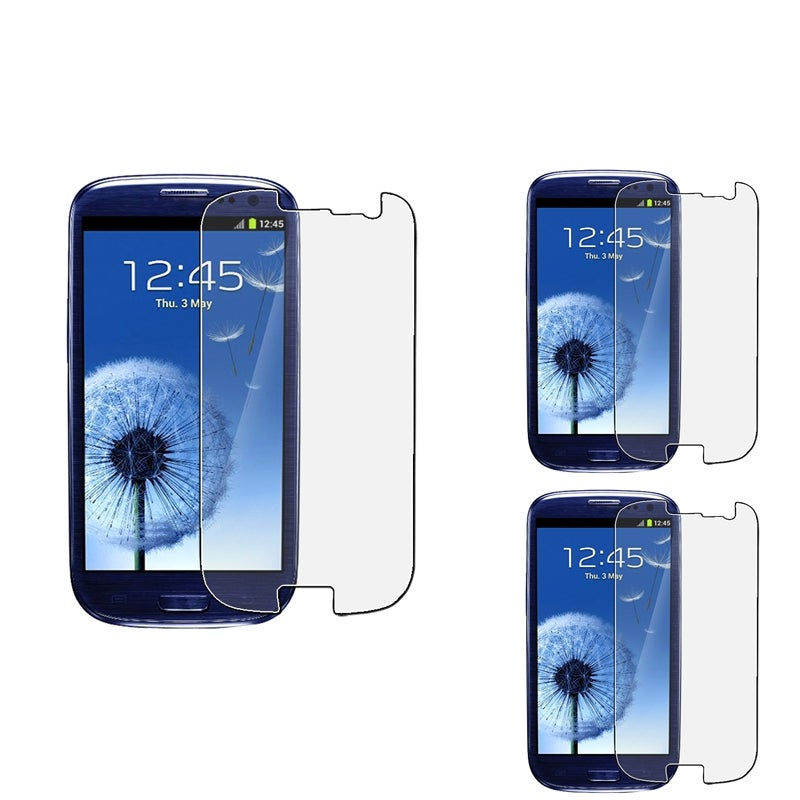 INSTEN Anti-glare Screen Protector for Samsung Galaxy S III i9300 (Pack of 3)