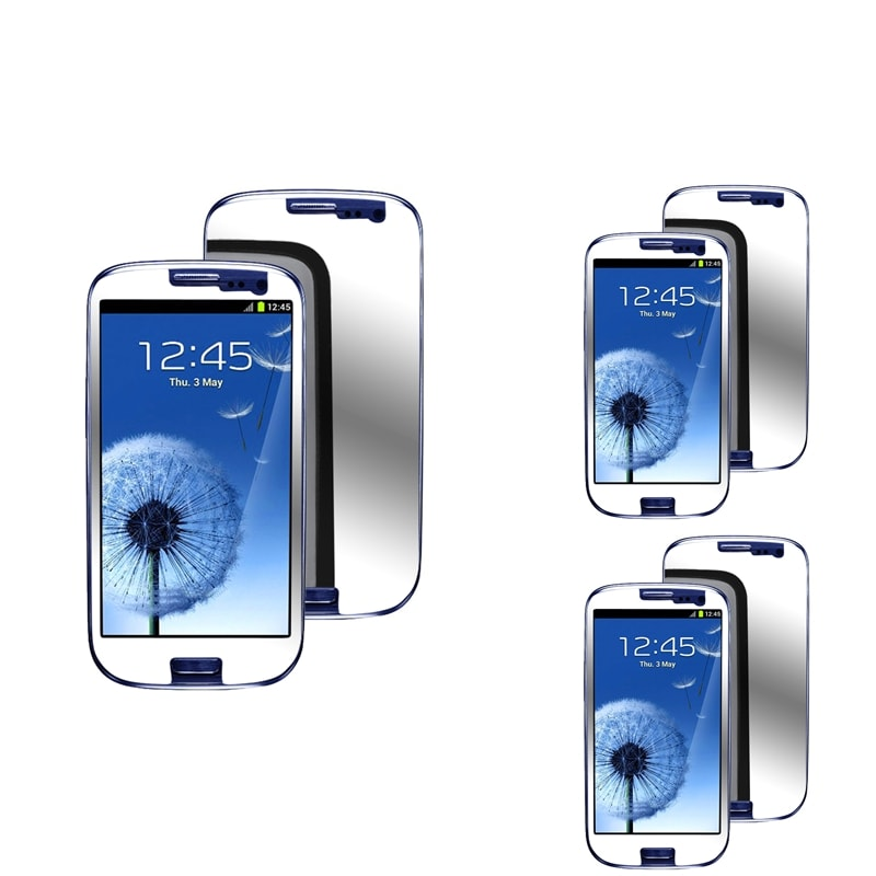 INSTEN Mirror Screen Protector for Samsung Galaxy S III i9300 (Pack of 3)