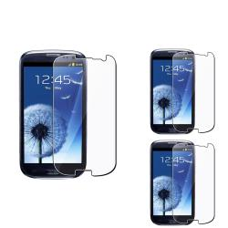 INSTEN Clear Screen Protector for Samsung Galaxy S III i9300 (Pack of 3)