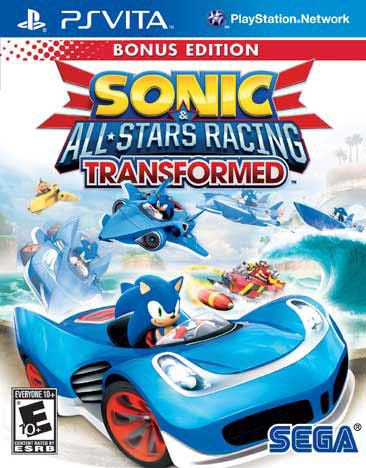 PS Vita - Sonic & All-Star Racing Transformed Bonus Edition