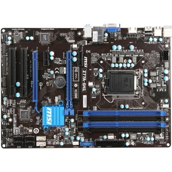 MSI Z77A-G41 Desktop Motherboard - Intel Chipset - Socket H2 LGA-1155
