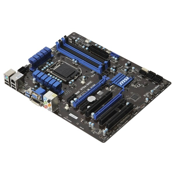 MSI B75A-G43 Desktop Motherboard - Intel Chipset - Socket H2 LGA-1155