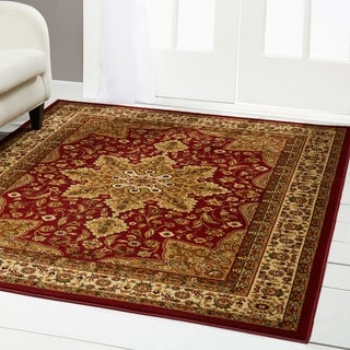 """Home Dynamix Royalty Collection Traditional Machine Made Polypropylene Area Rug - 7'8""""x10'4"""""""