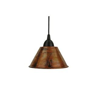 Premier Copper Products Copper 7-inch Handmade Cone Pendant Light (Mexico)