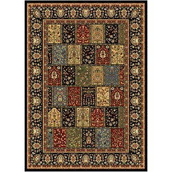 Home Dynamix Royalty Collection Traditional Black Area Rug  (7'5X10'4)