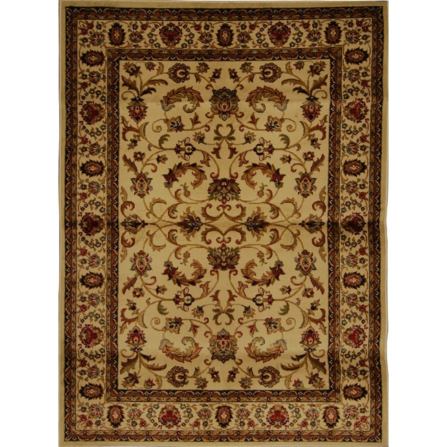 Home Dynamix Royalty Collection Traditional Area Rug 5 X27