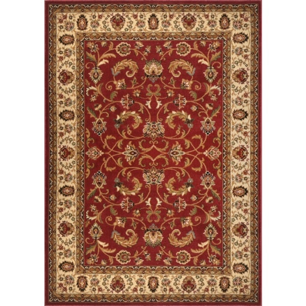 Home Dynamix Royalty Collection Traditional Machine Made Polypropylene Area Rug (5'2 x 7'2)
