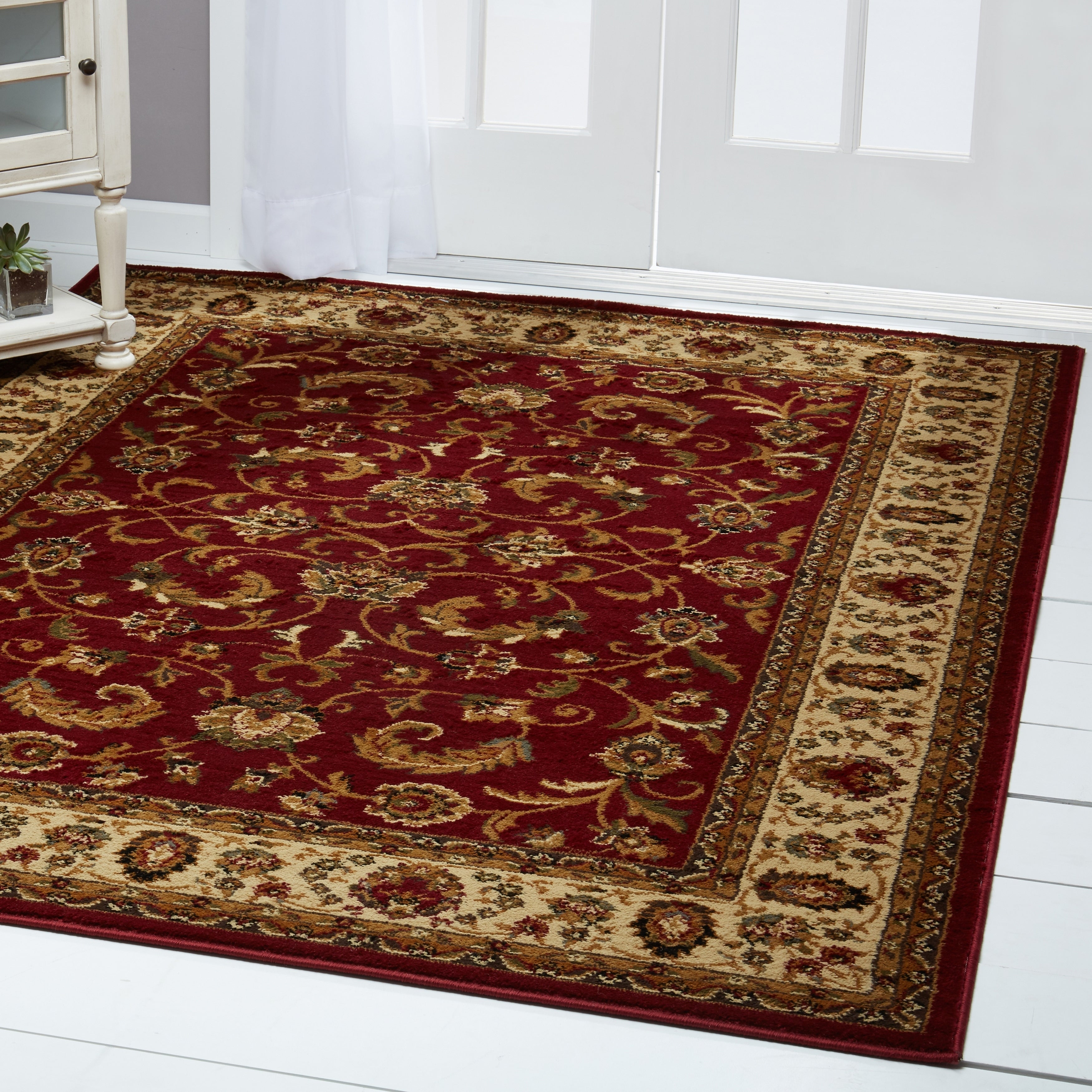 Details About Home Dynamix Royalty Collection Traditional Machine Made Polypropylene Area Rug