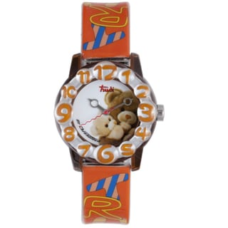 Trudi Kids' Orange Plastic Watch
