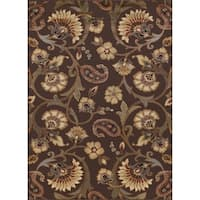 Alise Rhythm Brown Area Rug - 7'6 x 9'10