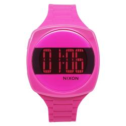 Nixon Women's Dash Pink Digital Dial Watch