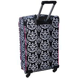 Jenni Chan Damask 360 Quattro 28-inch Hot Pink Upright Spinner - Thumbnail 1