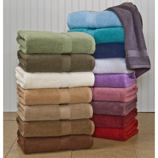 Calcot Supima Cotton Zero-Twist Machine Washable 3-piece Towel Set